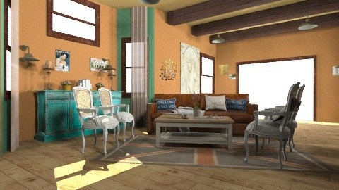 my ideal living room - Country - Living room  - by Gabriella Aloia