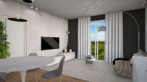 2 CAMERE_altra prospet2 - Modern - Living room - by AleToffola