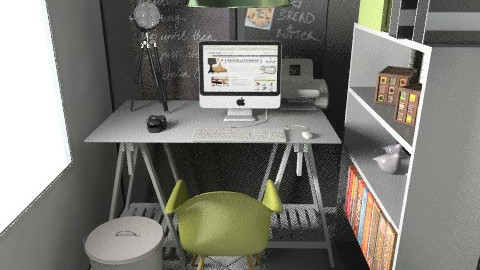 banjavciceva 18 - Eclectic - Office  - by tatjana_novak