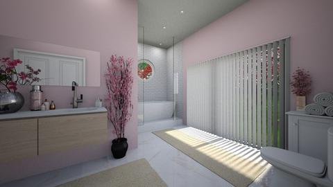 Cherry_Blossom_Bathroom - Bathroom  - by Cassidyy