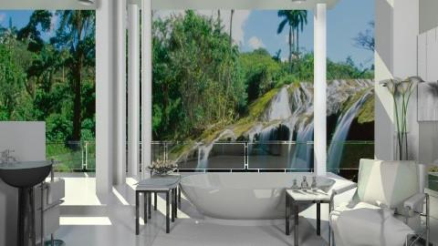 a view - Bathroom  - by mikaela7