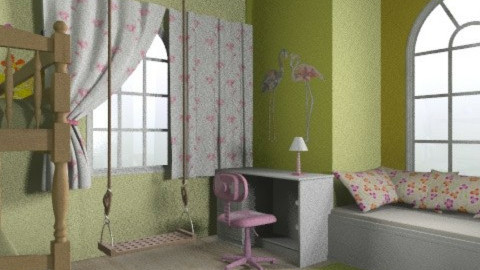 Emma és Emily02 - Classic - Kids room  - by Audrey17