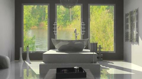 Layered Bathroom - Modern - Bathroom  - by idesine