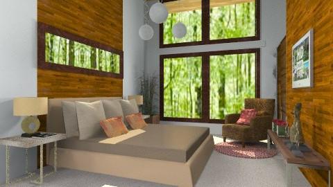 render me - Rustic - Bedroom  - by jackiefruit
