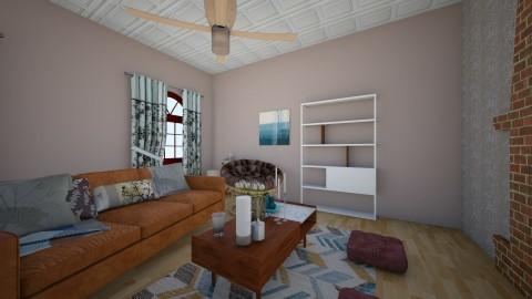 rustic bloom - Rustic - Living room  - by jessie mckals