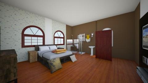 Duhia_Bedroom5 - Modern - Bedroom  - by Kyaraema