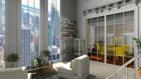 Big City Dreams - Modern - Living room  - by Puppy Chow