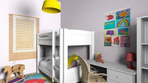 Lia_Itay_9c - Classic - Kids room  - by noga boyarsky