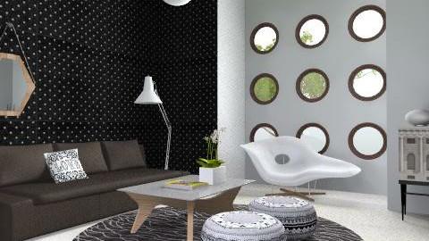 Black Magic Living Room - Modern - Living room  - by 3rdfloor