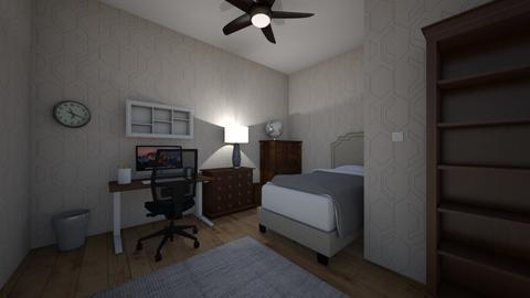 My dream study room - Minimal - Bedroom  - by Mr_Nobody
