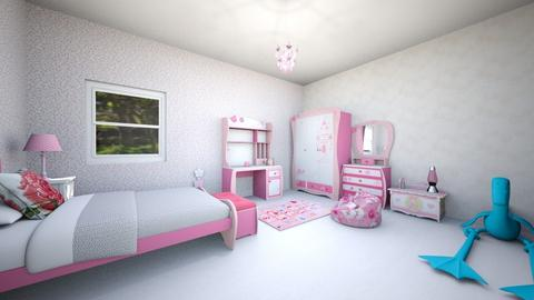 princessbedroom - Kids room - by Emma_04