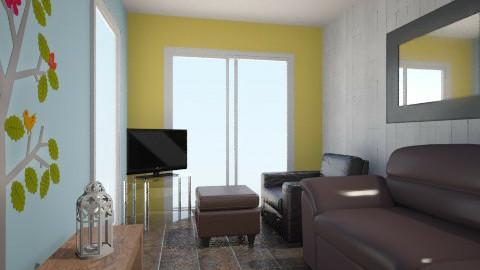 Backroom - Rustic - Living room - by benwilliam94