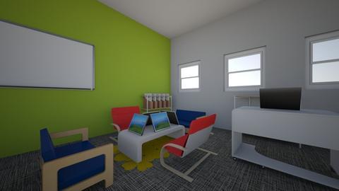 4th grade classroom - Office - by bpnicholson