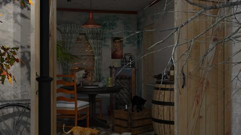 Run down little house - Country - Dining room  - by HenkRetro1960