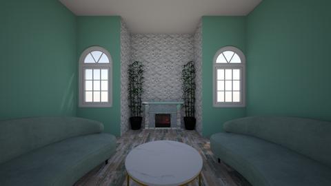 Symmetrical Room - Living room  - by dhriti