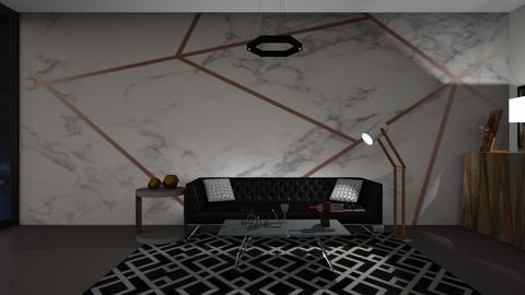Geometric LR - Modern - Living room  - by Sandra Wanga