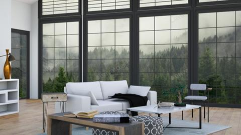 Large Windows - Living room  - by LilLil