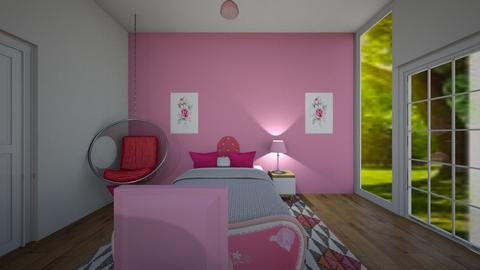PINK - Bedroom  - by SkylarLily