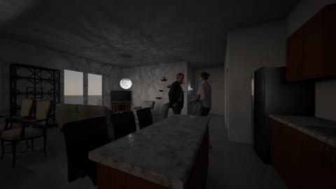Hall 2 v2 RM2 - Kitchen  - by Earvette
