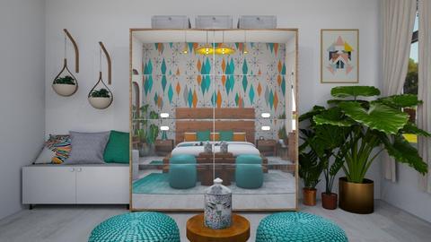 MCM Bedroom - Modern - Bedroom - by nikaslivaric