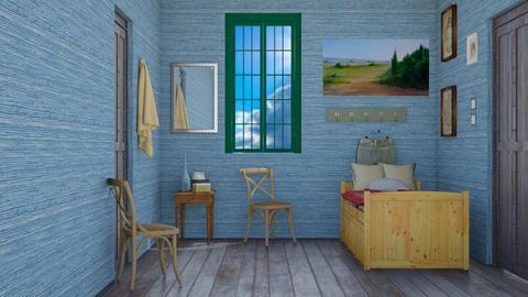Van Gogh Bedroom - Bedroom  - by NykhalahM