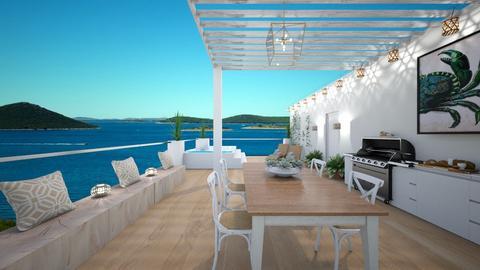rooftop terrace - by gaietta_aa