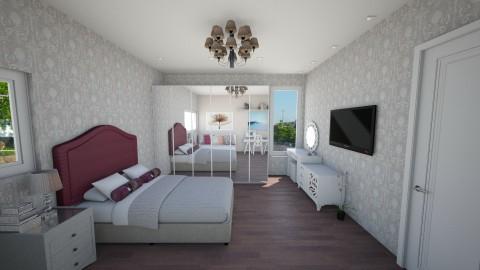 delicate room - Bedroom - by beatrizrauta
