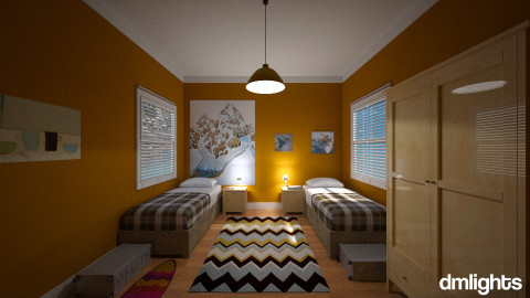 Children holiday - Kids room  - by DMLights-user-982312
