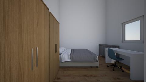 moja soba 2 - Minimal - Bedroom  - by primozmav