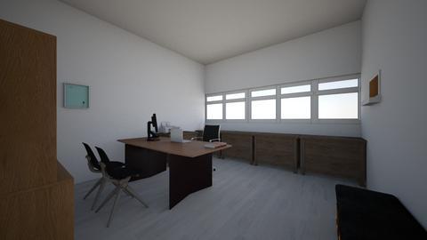 Mini office - Modern - Office - by Izzati