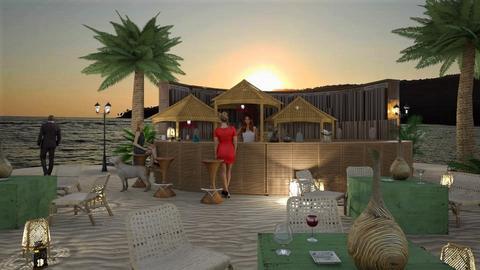 Tropical Bar - Garden  - by KimAlys