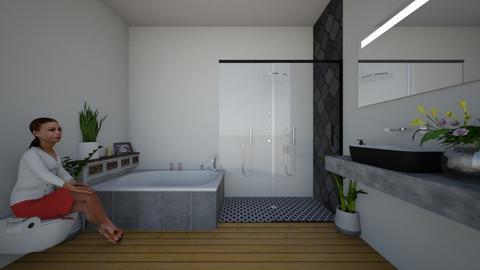 sauna bathroom - Bathroom - by dia17a