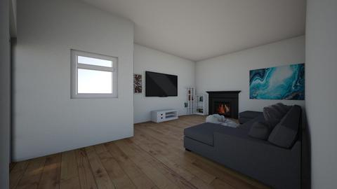 winter vibes - Living room  - by gongongongon
