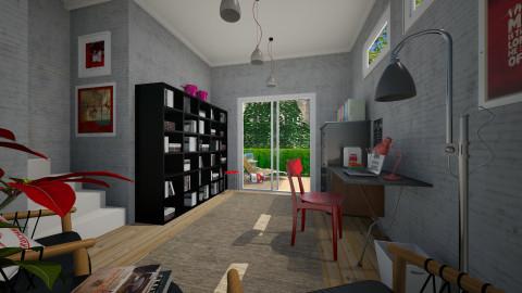 Basement office - Office  - by Tuija