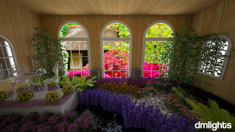 Dream Garden - Garden - by DMLights-user-1026380