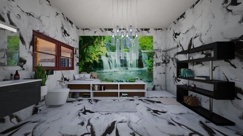 Bathroom - Modern - Bathroom  - by GabbbyW208