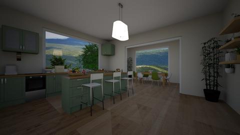 kitchen - by Jana Nedeljkovic