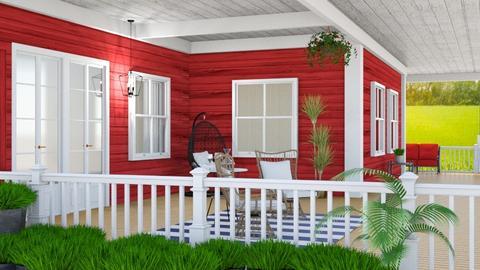 Wood Porch - by yonvie