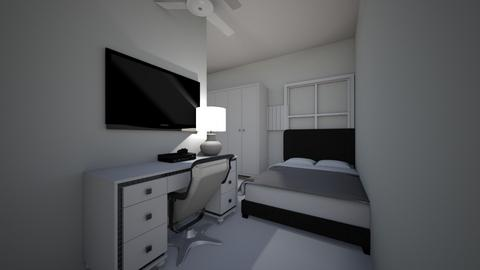 3D home bed room - by corey kelly