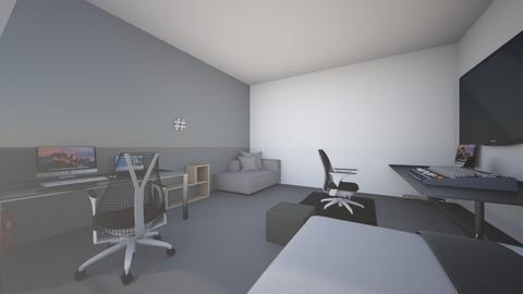 gamer - Modern - Bedroom  - by darekkk