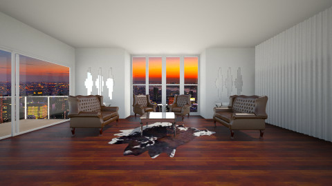 penthouse - Living room - by popov_hristijan
