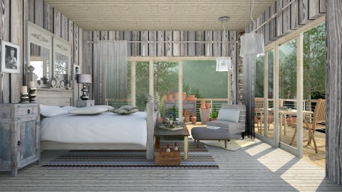 Bedroom in nature  - Eclectic - Bedroom  - by Ida Dzanovic
