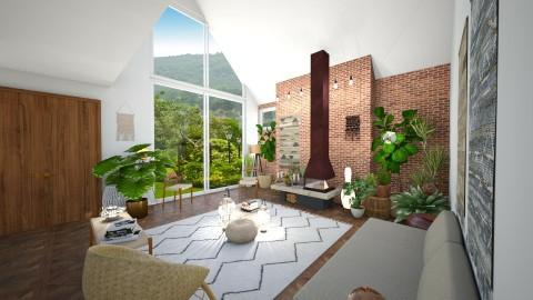 View - Retro - Living room  - by camilla_saurus