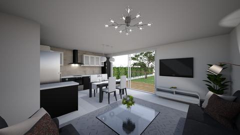 kozmo2 - Living room  - by PaperBoi