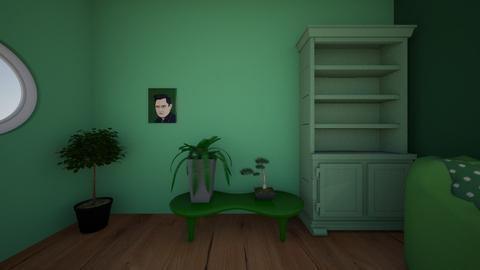 green room - Living room  - by danielaramos