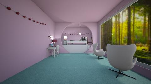 pink light - Kids room  - by mashhoud