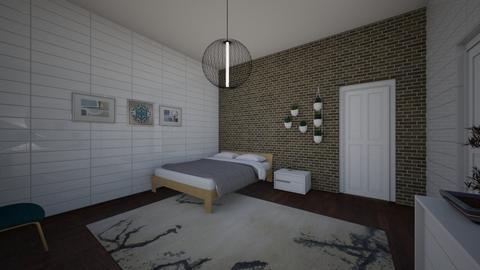 Challenge room  - Bedroom  - by Katlopez2003