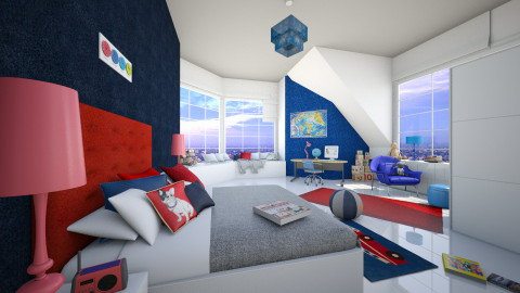 Little Prince  - Modern - Kids room  - by Senia N