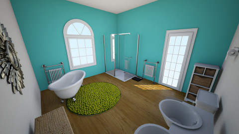 Rachel Bridge - Eclectic - Bathroom  - by rachelbbridge