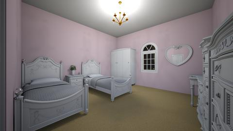 princess twin rich room - Modern - Kids room  - by jade1111